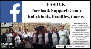 FASD UK Facebook Support Group